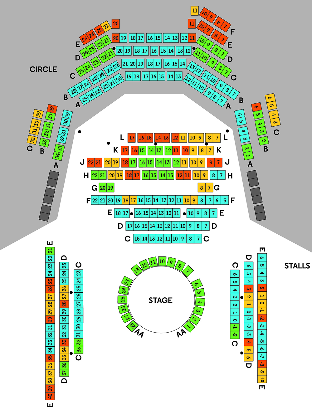 Seating Plan Shipwreck Website