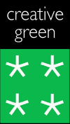 creative green logo